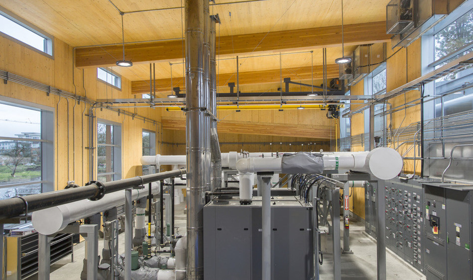 LMLGA --Lower Mainland Local Government Association: City of Richmond for the Alexandra District Energy Building (CNW Group/Canadian Wood Council for Wood WORKS! BC)