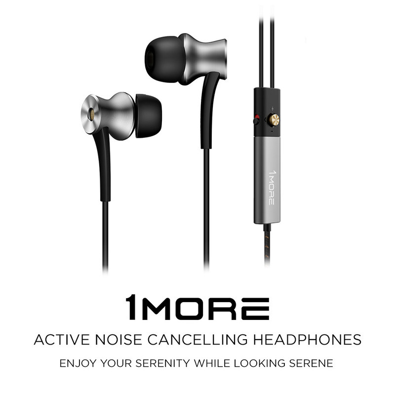 1MORE Active Noise Cancelling In-Ear Headphones