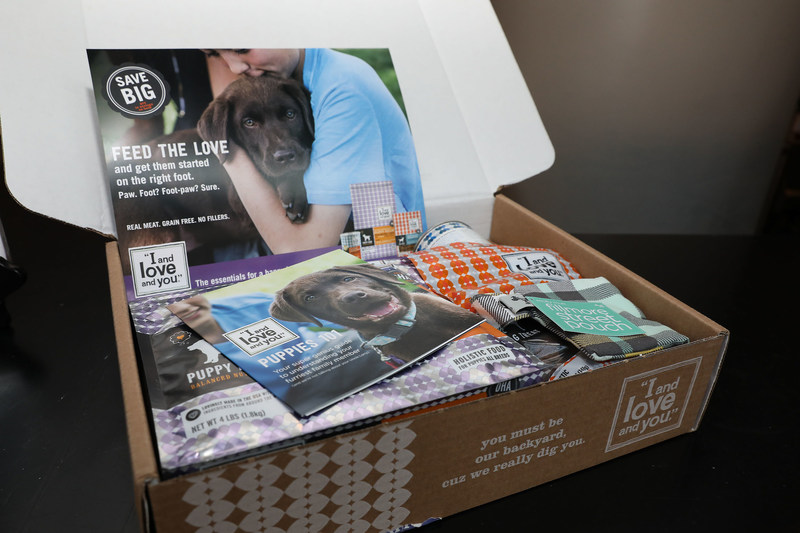 """I and love and you"" launches Puppy Food Starter Kit."