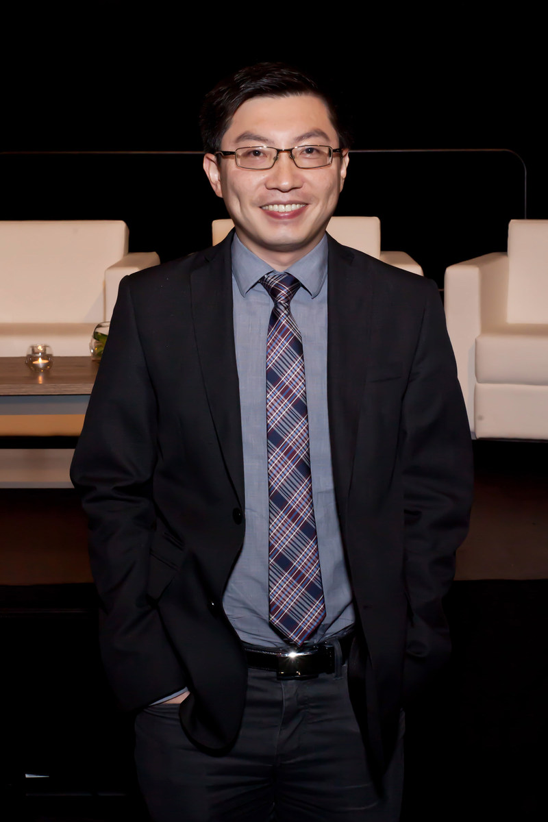"Kevin Wen captured first place with, ""The One App to Rule Them All."" (CNW Group/Astellas Pharma Canada, Inc.)"