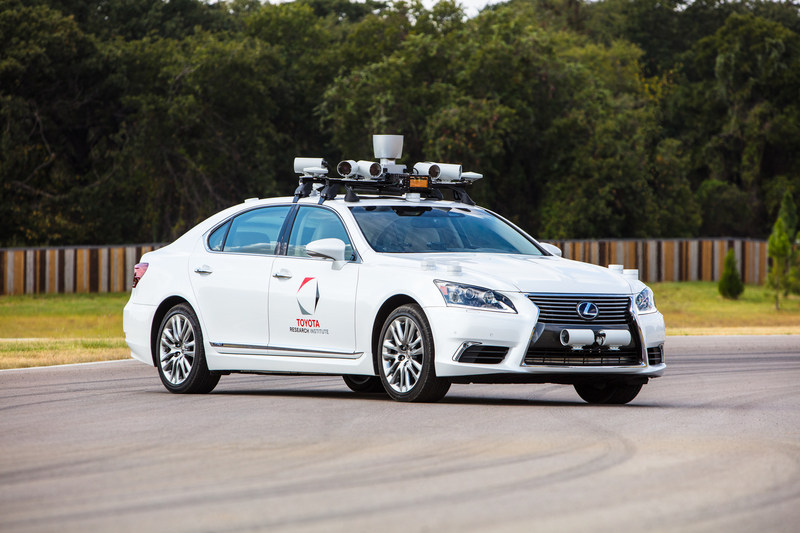 Toyota Research Institute (TRI) is demonstrating its progress in the development of automated driving technology and other project work to the investor community this week.