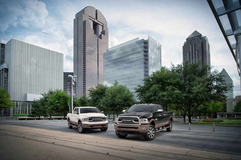 Ram today unveiled the new-for-2018 Laramie Longhorn Southfork. Available in Ram 1500, 2500 and 3500 the new model adds to Ram's line of ultra-luxury pickups.