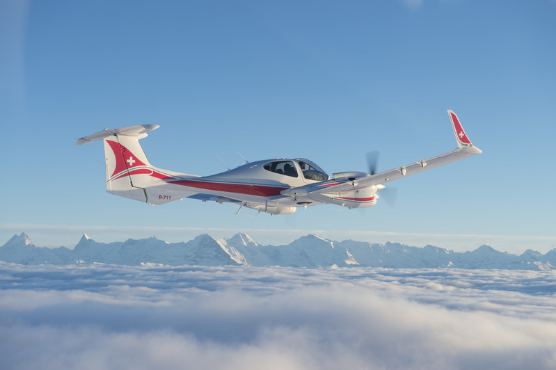 Aurora's Centaur Optionally-Piloted Aircraft (OPA) for Armasuisse, the procurement agency of the Swiss Department of Defence.