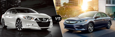Consumers can find more information on the 2017 Nissan Maxima vs the 2017 Honda Accord on the Kenosha Nissan website.