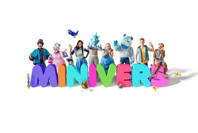 Minivers, la nouvelle série enfance de Groupe Média TFO (Groupe CNW/Office des télécommunications éducatives de langue française de l'Ontario (OTÉLFO))