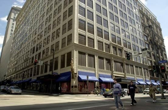 Historic Kaufmann's Building in downtown Pittsburgh, Pennsylvania