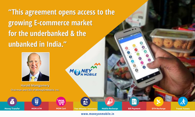 MoneyOnMobile Enabled Retailers Connected to Growing E-Commerce Market Through Strategic Partnership with ShopClues