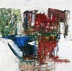 JEAN-PAUL RIOPELLE, UN COIN DE PAYS, 1962, HUILE SUR TOILE, 200 X 200 CM. AMBASSADE DU CANADA À PARIS, COLLECTION AFFAIRES MONDIALES, GOUVERNEMENT DU CANADA. © SUCCESSION JEAN PAUL RIOPELLE / SODRAC (2017). PHOTO : ARCHIVES YSEULT RIOPELLE (Groupe CNW/Musée national des beaux-arts du Québec)