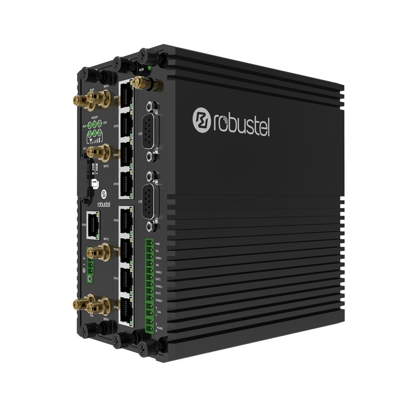 The MEG5000 Modular Industrial IoT Edge Gateway Supports Various Communication Protocols