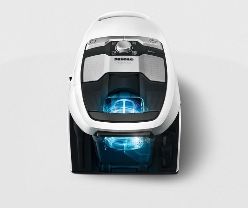 La technologie Vortex et un système de filtration innovant ne sont que quelques-uns des détails complexes qui démarquent le Blizzard de la concurrence (Groupe CNW/Miele Canada)