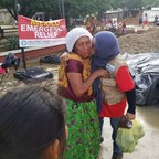 Helping Hand USA Emergency Team in Mexico: Providing Food Packages, Blankets and Tarps