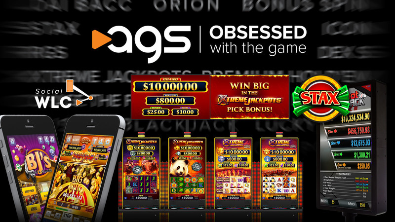 New product highlights for AGS at G2E 2017.