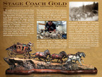 Treasure Investments Commissions Laran R. Ghiglieri for Historic Stage Coach Bronze Sculpture