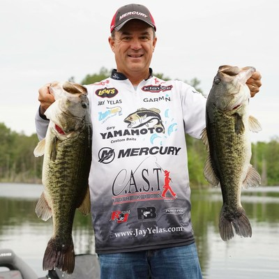 SteelShad is proud to sponsor Jay Yelas. (PRNewsfoto/SteelShad Fishing Company)