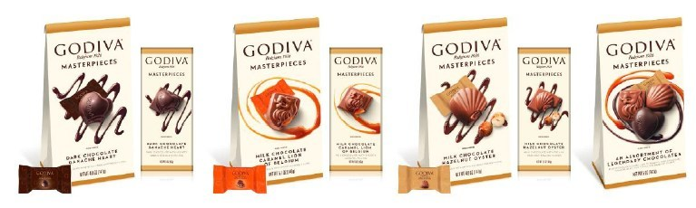 GODIVA INTRODUCES NEW MASTERPIECES COLLECTION