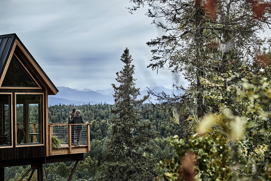 """Princess Cruises Wilderness Treehouse Unveiled in Finale Episode Of Animal Planet's """"Treehouse Masters"""""""