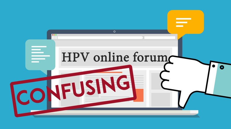 Online forums on HPV provide inaccurate information