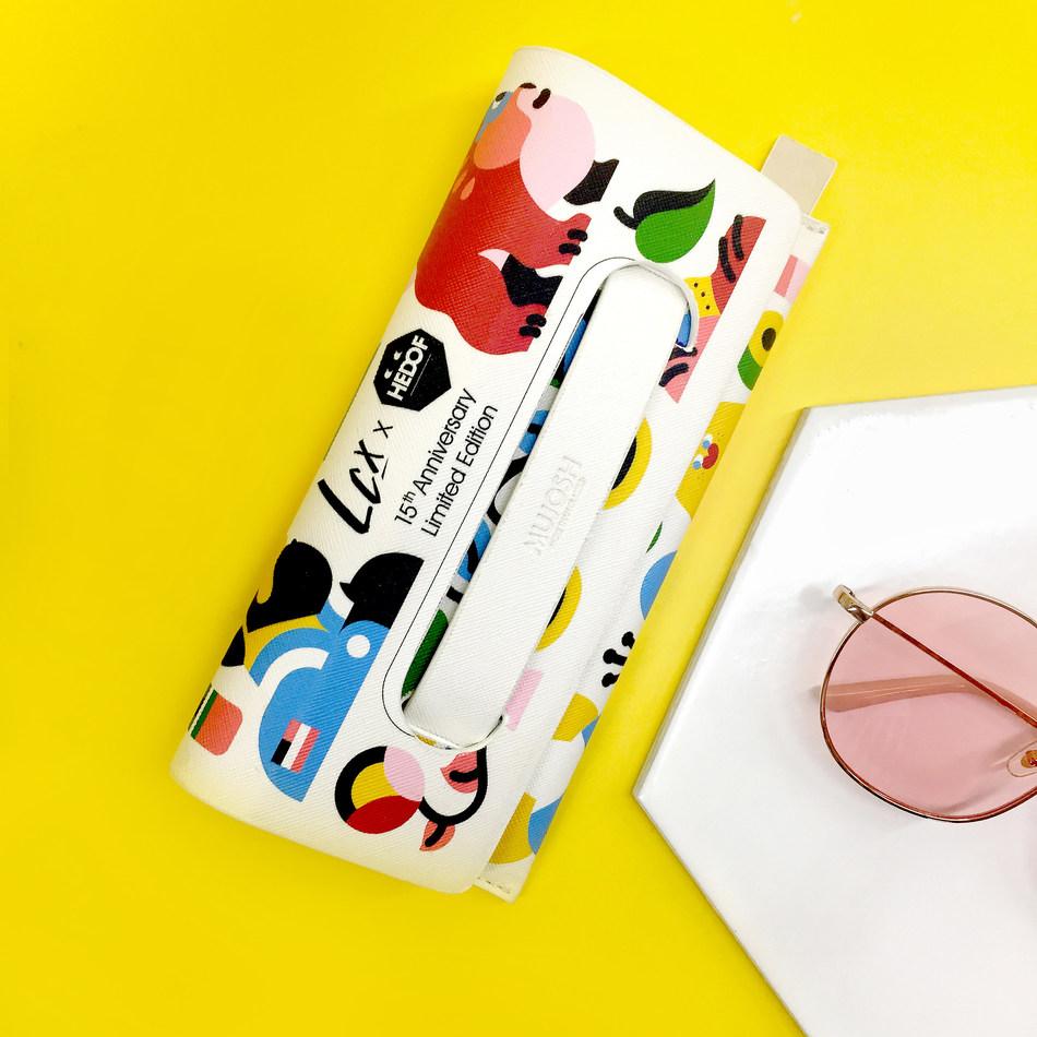 Crossover Sunglasses Pouch of MUJOSH X LCX X HEDOF