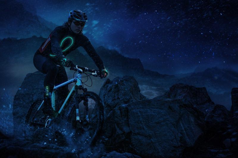Illuminated Night Cycling