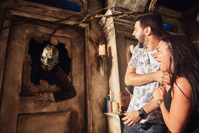 Out of Orlando's many Halloween frights, Halloween Horror Nights at Universal Orlando Resort just may be the most terrifying. Here, guests face daunting scares and immersive horrors within Dead Waters, one of nine haunted house.