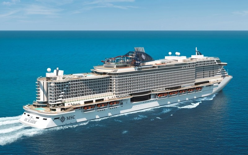 MSC Seaside, MSC Cruises' newest revolutionary mega ship, will officially arrive to Miami in December, sailing for the first time from Port Miami on December 23.