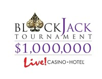 Live! Casino & Hotel is hosting its first-ever $1 MILLION BLACKJACK TOURNAMENT SERIES. The series kicked off on Sunday, September 17, and will feature monthly tournaments leading up to the $500,000 Championship Tournament in February 2018.