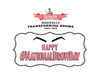 Benefit Cosmetics - Magically transforming brows since 1976 - Happy #NationalBrowDay (CNW Group/Benefit Cosmetics)