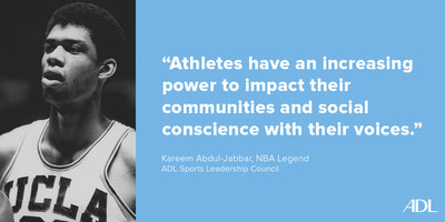 Kareem Abdul-Jabbar on ADL Sports Leadership Council