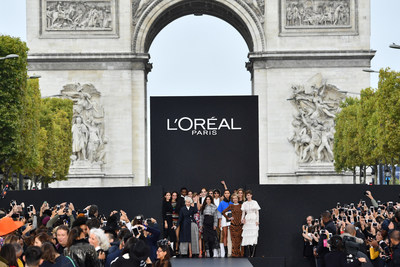 """Le Defile L'Oreal Paris"": Relive the Brand's First Fashion and Beauty Runway Show on the Champs-Elysees! (PRNewsfoto/L'Oreal Paris)"