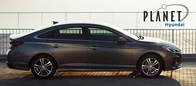 The 2018 Hyundai Sonata is now available from Planet Honda, located at 15601 West Colfax Avenue in Golden, Colorado.