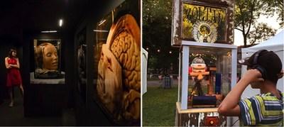 Musée de la mort / Zoltar le cadavre exquis (Groupe CNW/Société des célébrations du 375e anniversaire de Montréal)
