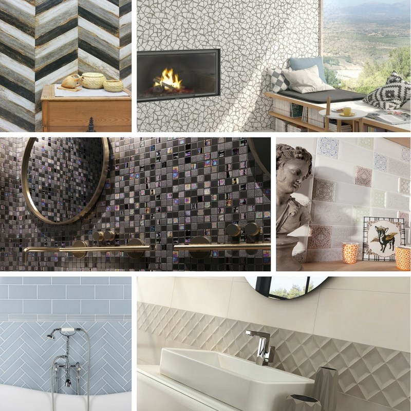 Tile of Spain companies presented a mix of tile trends at Cersaie 2017 inspired by the latest in decorating and design. Trends include iridescent accents, classic elegance, new volumes, handmade inspiration, fusion and freshness, and style and simplicity.