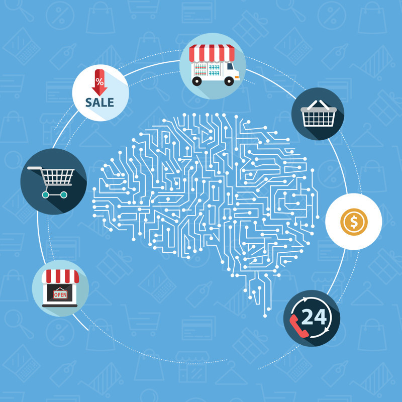 Increase online sales revenue using eComchain's Artificial Intelligence features such as Customer-centric search, enabling the search engine to think the way humans do, in addition to retargeting potential customers by identifying prospects. With the help of Omni-channel personalization and personalized chatbots, the online retailer can now easily increase the conversation rate of an online shopper.