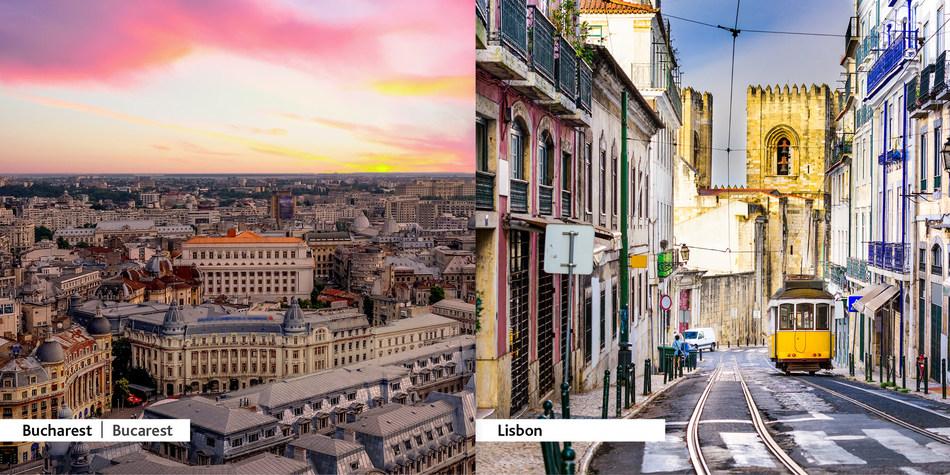 Air Canada étend son réseau mondial avec un nouveau service au départ de Montréal à destination de Bucarest (Roumanie) et Lisbonne (Portugal) (Groupe CNW/Air Canada)