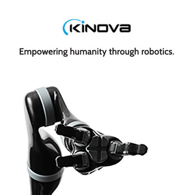 "Kinova secures $25 million in funding to invest in accelerating the companies growth and innovation. ""We want our users to achieve the extraordinary with our robots - creating more value for themselves and our society,"" said Kinova CEO Charles Deguire. ""The financial support, broad expertise and geographic coverage of our experienced partners gives us additional resources to accelerate our growth, quickly and strategically establish our presence in new markets, develop an extended line of breakthrough products, and propel our advanced manufacturing capabilities."""