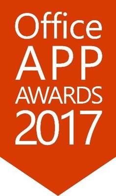Office App Awards 2017 (PRNewsfoto/FlowForma)