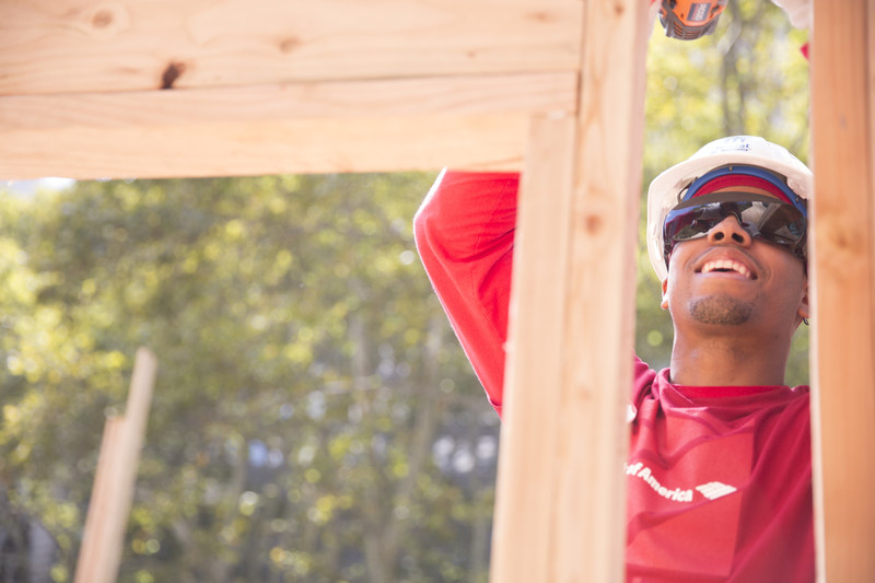 Bank of America employees will work alongside Habitat homeowners in six countries during the Global Build, helping homeowners build or improve the places they can call home.