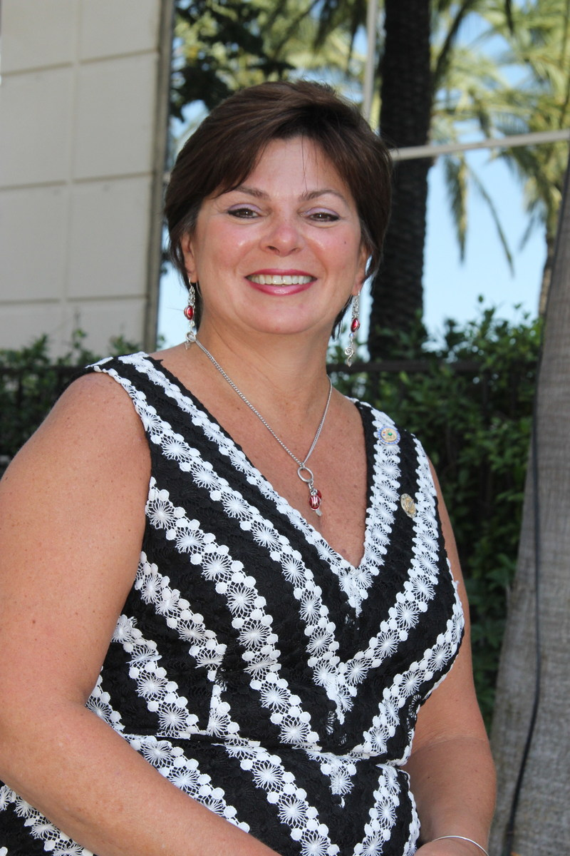 Catherine Schoenenberger, owner of Stay Safe Traffic Products, is NAWIC's new national president.