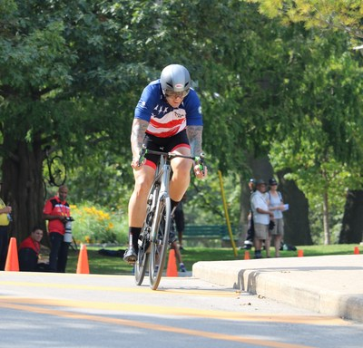 Air Force veteran Adam Faine earned a Bronze medal at Invictus Games Toronto Wednesday in men's road bike. Adam serves as WWP's Soldier Ride manager for the Jacksonville team. See more images from Invictus Games on facebook.com/wwp