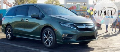 The 2018 Honda Odyssey is now available from Planet Honda, located at 15701 West Colfax Avenue in Golden, Colorado