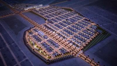 Master Plan Image for China Pak Hills Phase 1 (PRNewsfoto/China Pak Investment Corporation)