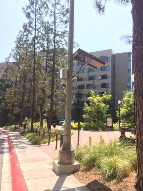 UCLA deployed the V5 CAP for additional dorm security