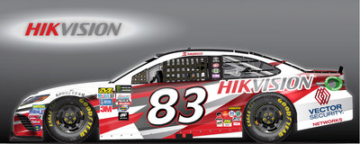 Hikvision USA Inc., the North American leader in innovative, award-winning video surveillance products and solutions, and integrator partner Vector Security are cosponsoring Brett Moffit's No. 83 Camry for the Apache Warrior 400 on Sunday, Oct. 1. Part of the Monster Energy NASCAR Cup Series, the race will take place at the Dover International Speedway in Dover, Del.
