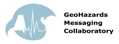 This webinar event is supported by the GeoHazards Messaging Collaboratory, a joint working group of communications professionals representing some of the nation's leading geological hazards research institutions and geophysical instrumentation facilities, such as the U.S. Geological Survey, National Oceanic and Atmosphere Administration, Incorporated Research Institutions for Seismology, UNAVCO, and the Southern California Earthquake Center.