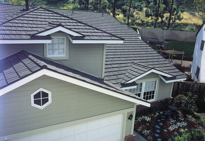 This Weathered Shake Style Metal Roof Is Manufactured By MRA Member Metro Roof  Products. Homeowners