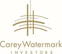 (PRNewsfoto/Carey Watermark Investors Incor)