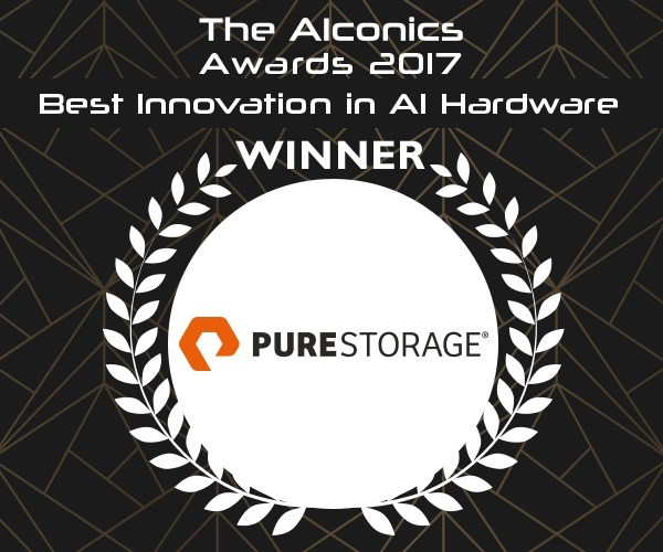 Pure Storage Wins AIconics Award