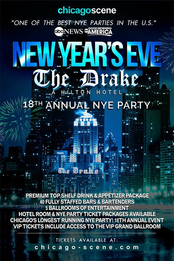 Drake Hotel NYE Flyer
