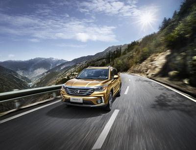 Le modèle GS4 de GAC Motor est classé no 1 parmi les marques chinoises dans la catégorie des VUS compacts de l'étude IQS réalisée par J.D. Power. (PRNewsfoto/GAC Motor)