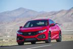 Los premiados sedán, cupé y Si Honda Civic, de gran venta, regresan en 2018 para seguir liderando en el segmento compacto